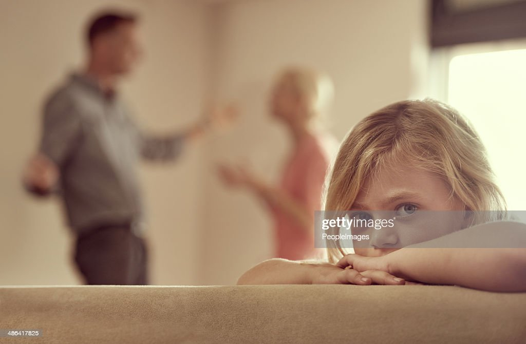 Why do they have to fight? : Stock Photo