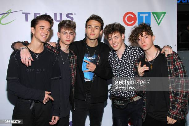 Members of the Rotman family arrive to WE Day Toronto and the WE Carpet at Scotiabank Arena on September 20 2018 in Toronto Canada