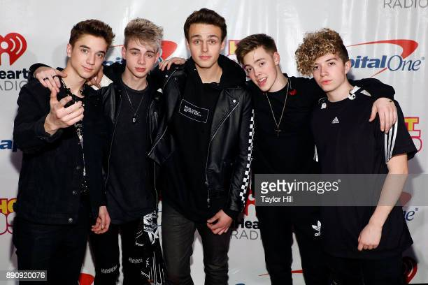 Why Don't We attends the 2017 Hot 995 Jingle Ball on December 11 2017 in Washington DC