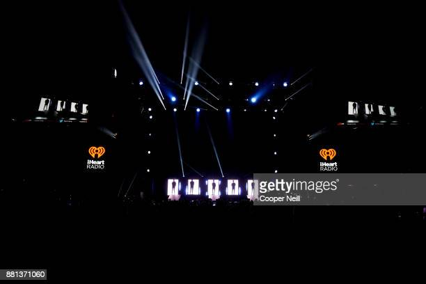 Why Don't We performs onstage at 1061 KISS FM's Jingle Ball 2017 Presented by Capital One at American Airlines Center on November 28 2017 in Dallas...