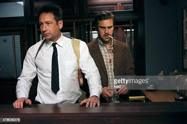 AQUARIUS 'Why' Episode 109 Pictured David Duchovny as Sam Hodiak Grey Damon as Brian Shafe
