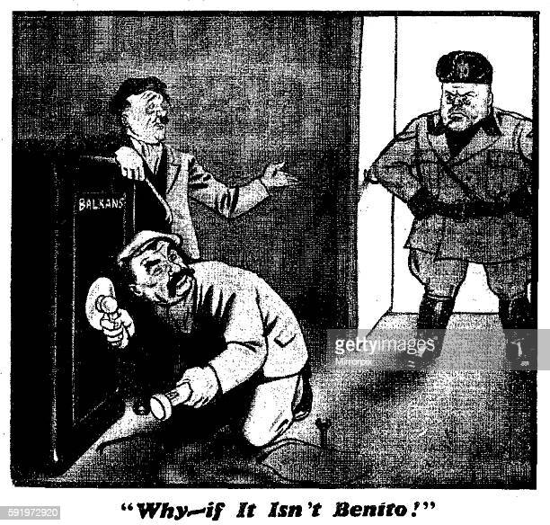 Why - if It Isn't Benito! 9th December 1939