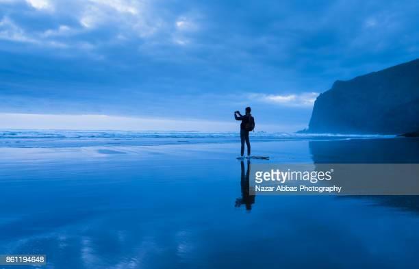 Why not take photo of beautiful beach.