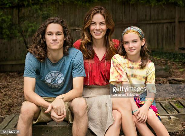 THE PATH Why We Source Episode 205 Pictured Kyle Allen as Hawk Lane Michelle Monaghan as Sarah Lane Aimee Laurence as Summer