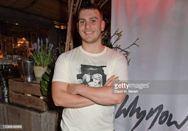 whynow Founder Gabriel Jagger attends the launch of new positive media platform 'whynow' at Petersham Nurseries on March 12 2020 in London England