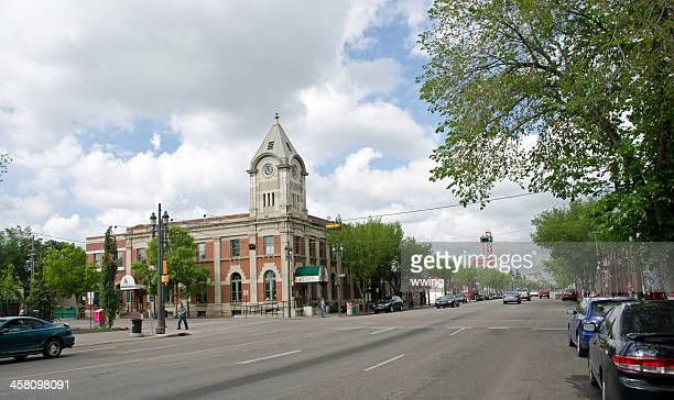 Whyte Avenue and The Old Post Office