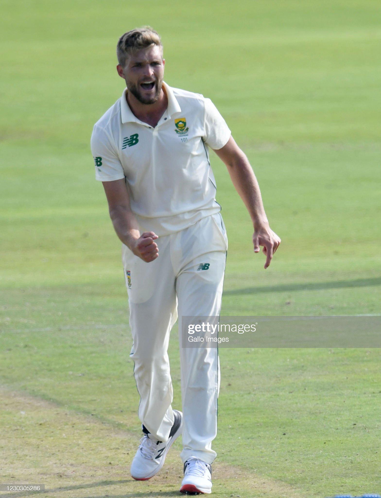 South Africa v Sri Lanka - First Test Day 1 : News Photo