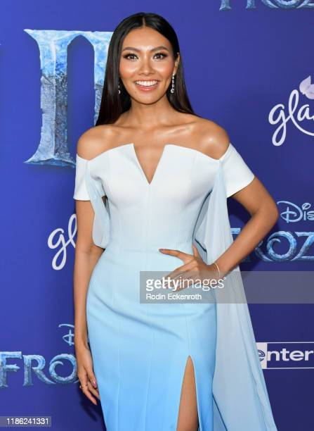 Wichayanee Piaklin attends the Premiere of Disney's Frozen 2 at Dolby Theatre on November 07 2019 in Hollywood California