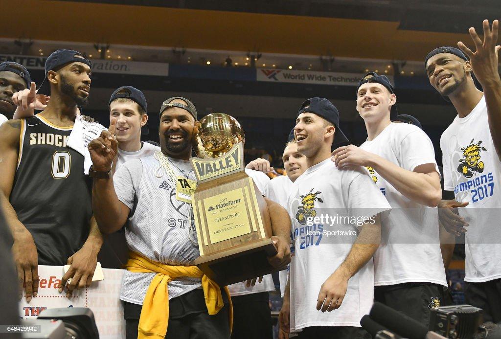 COLLEGE BASKETBALL: MAR 05 MVC Championship - Wichita State v Illinois State : News Photo