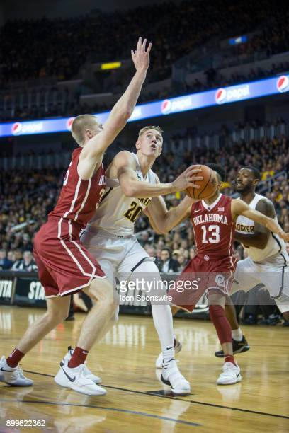 Wichita State Shockers center Rauno Nurger during the college mens basketball game between the Oklahoma Sooners and the Wichita State Shockers on...