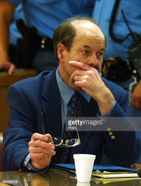 Dennis Rader the selfnamed Bind Torture Kill serial killer who terrorized a Kansas town for decades listens to testimony at his sentencing hearing 18...