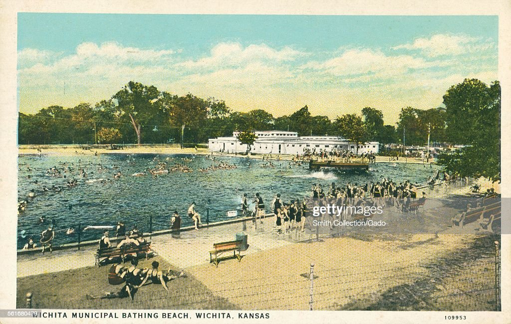 Wichitas Munil Bathing News Photo