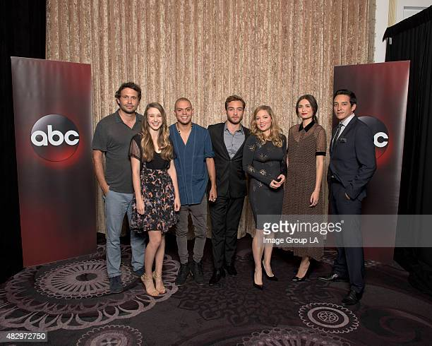 TOUR 2015 'Wicked City' Session The cast and producers of ABC's 'Wicked City' at Disney | ABC Television Group's Summer Press Tour 2015 at The...