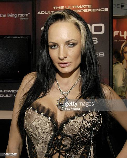 Wicked Pictures actor Alektra Blue attends the Cable Show 2011 at McCormick Place on June 16 2011 in Chicago Illinois
