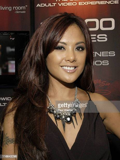 Wicked Pictures actor Kaylani Lei attends the Cable Show 2011 at McCormick Place on June 16, 2011 in Chicago, Illinois.
