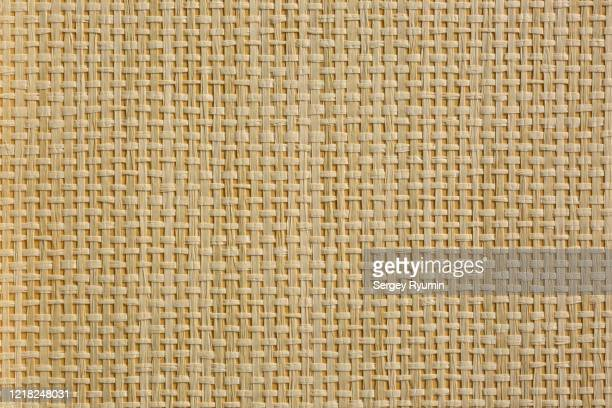 wicker straw on cardboard - background - wicker stock pictures, royalty-free photos & images