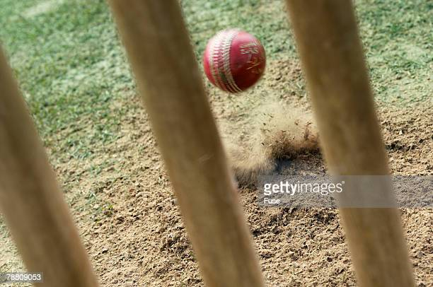 Wicket and Cricket Ball