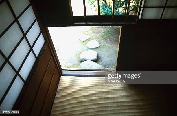 Wicket gate of tea-ceremony room