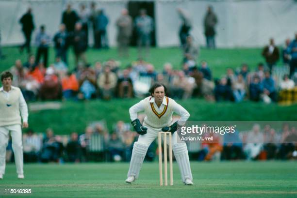 Wicket keeper Roger Tolchard playing for Lavinia Duchess of Norfolk's XI against Australia Arundel May 1980