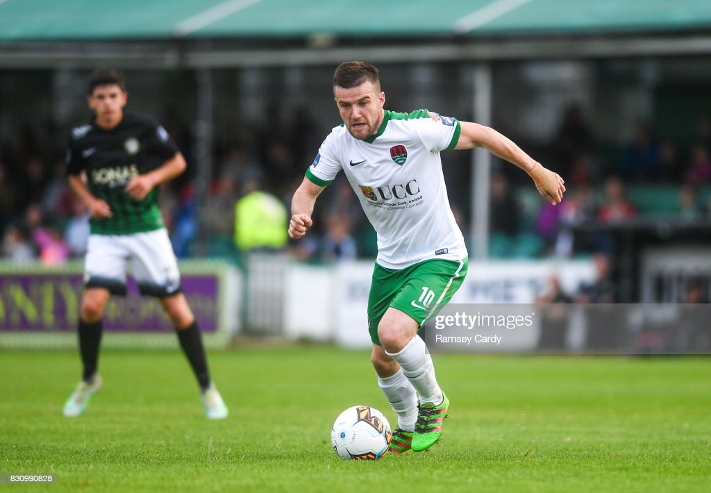 Wicklow , Ireland - 12 August 2017; Steven Beattie of Cork City during the Irish Daily Mail FAI Cup first round match between Bray Wanderers and Cork City at the Carlisle Grounds in Bray, Co. Wicklow.
