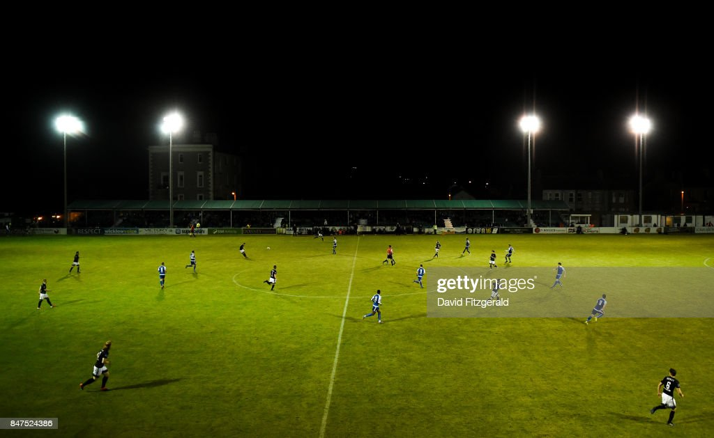 Wicklow , Ireland - 15 September 2017; A general view during the SSE Airtricity League Premier Division match between Bray Wanderers and Limerick FC at the Carlisle Grounds in Wicklow.