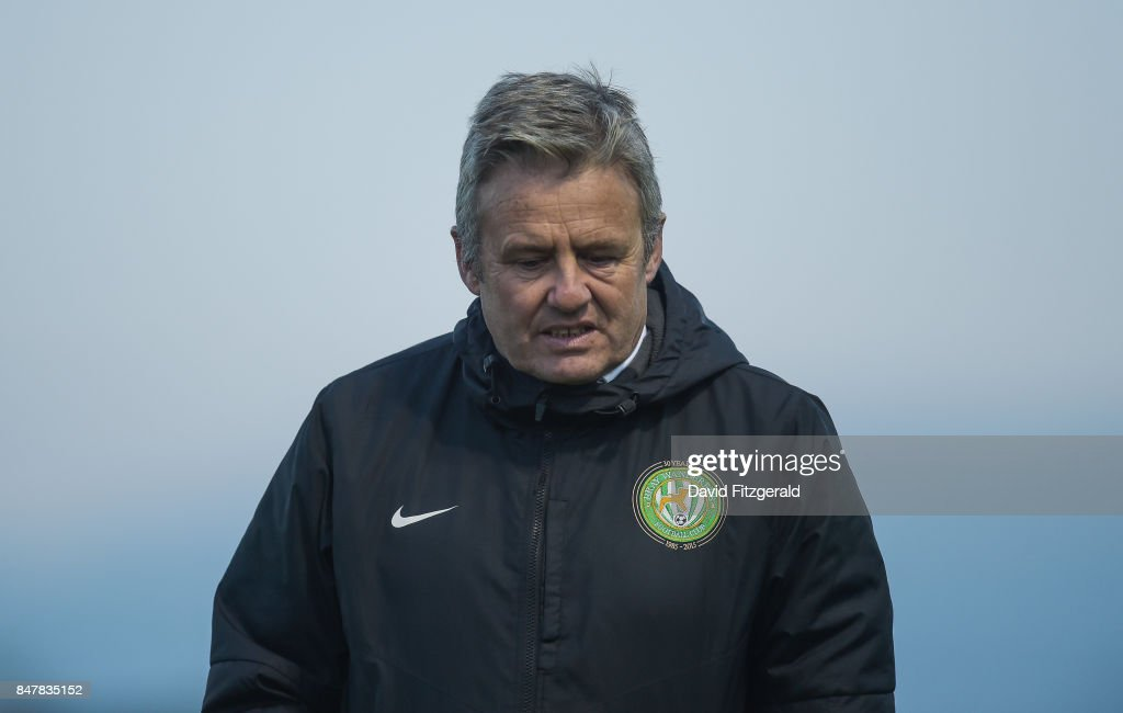 Wicklow , Ireland - 15 September 2017; Bray Wanderers manager Harry Kenny ahead of the SSE Airtricity League Premier Division match between Bray Wanderers and Limerick FC at the Carlisle Grounds in Wicklow.