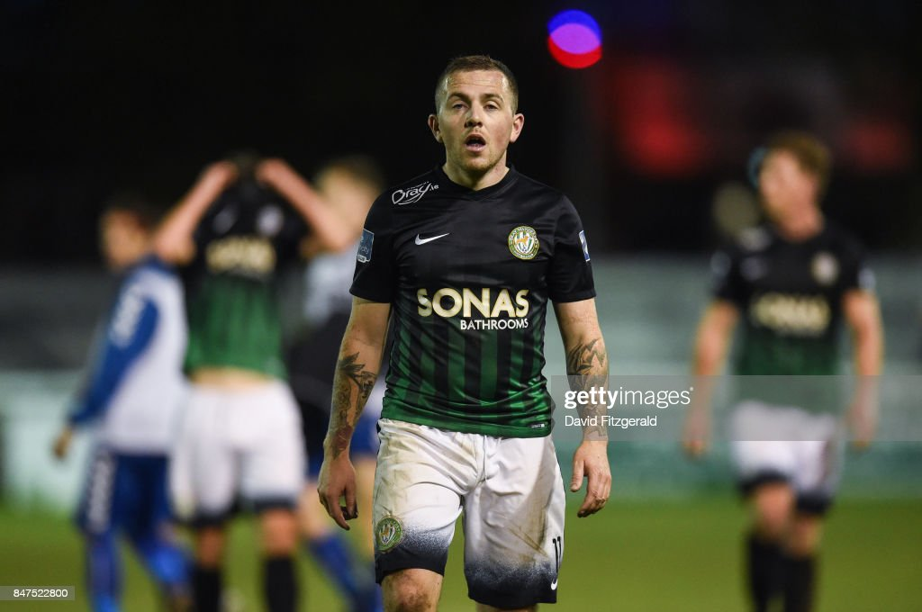Wicklow , Ireland - 15 September 2017; Gary McCabe of Bray Wanderers following the SSE Airtricity League Premier Division match between Bray Wanderers and Limerick FC at the Carlisle Grounds in Wicklow.