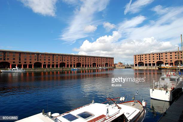 Wide angle Albert Dock