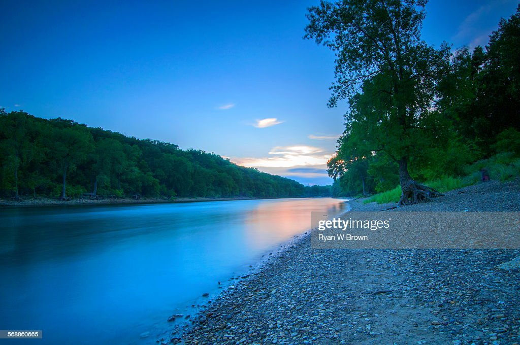 Wide angle Mississippi : Stock Photo