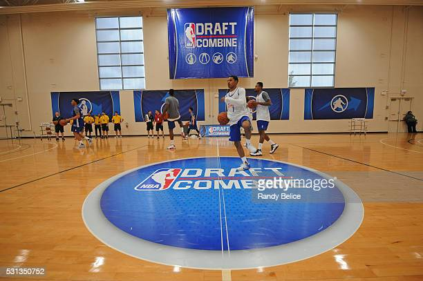 A wide angle shot during 2016 NBA Draft Combine on May 12 2016 at the Quest Multisport in Chicago Illinois NOTE TO USER User expressly acknowledges...