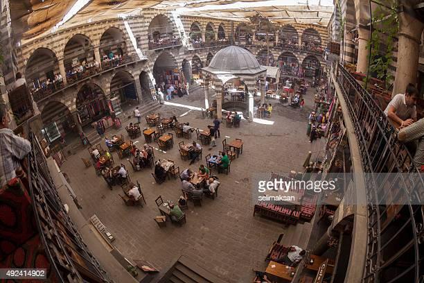 Wide Angle View Of Hasan Pasa Hani In Diyarbakir,Turkey