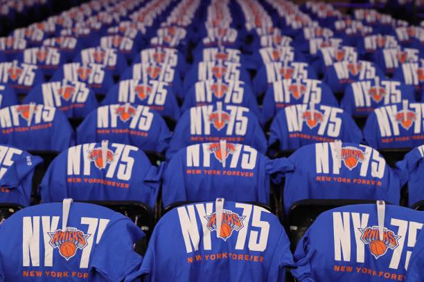NY: Boston Celtics v New York Knicks