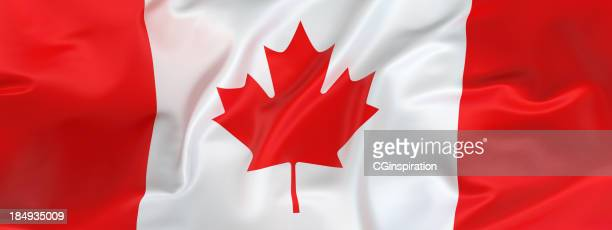 wide canadian flag - canadian flag stock pictures, royalty-free photos & images