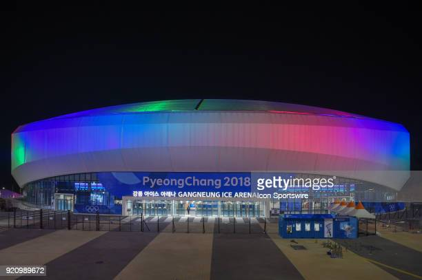 Risultato immagini per gangneung ice arena night