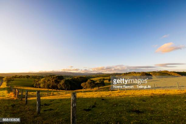Wide Open landscape, hinterland of Byron Bay