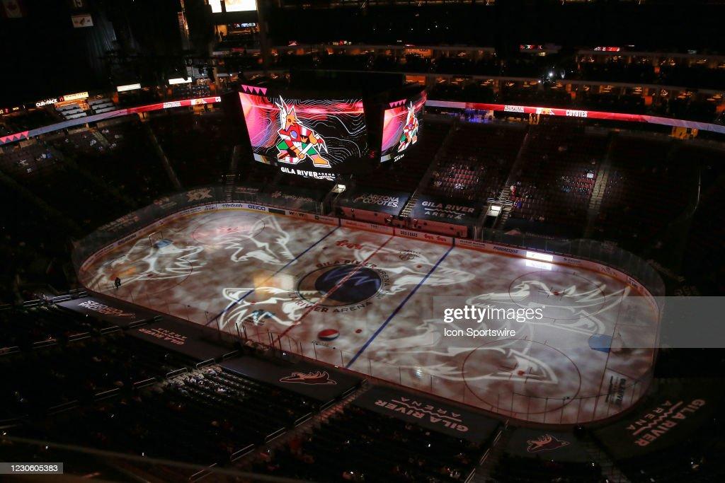 NHL: JAN 14 Sharks at Coyotes : News Photo