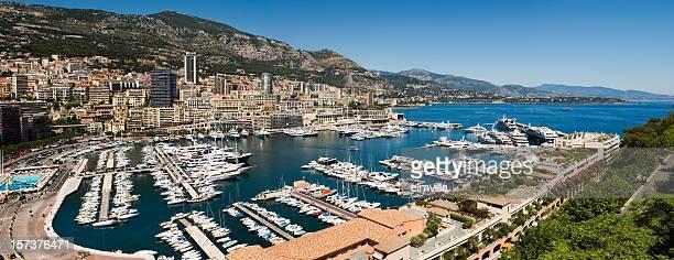 Wide Panorama of Monaco Monte Carlo Nikon D3