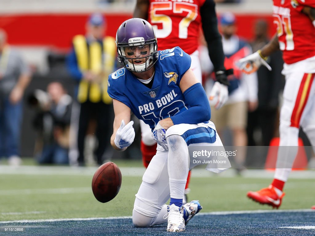 Adam Thielen Minnesota Vikings NFC Pro Bowl Game Jersey