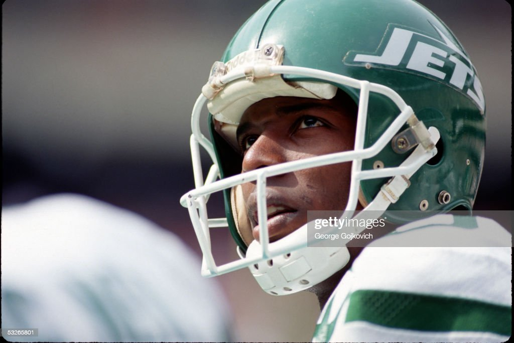 New York Jets Al Toon : News Photo