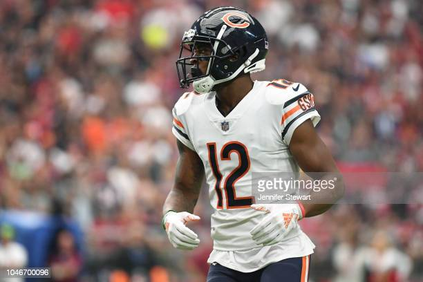 Wide receiver Allen Robinson of the Chicago Bears in action during the NFL game against the Arizona Cardinals at State Farm Stadium on September 23,...