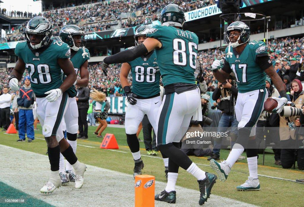 Carolina Panthers v Philadelphia Eagles : News Photo