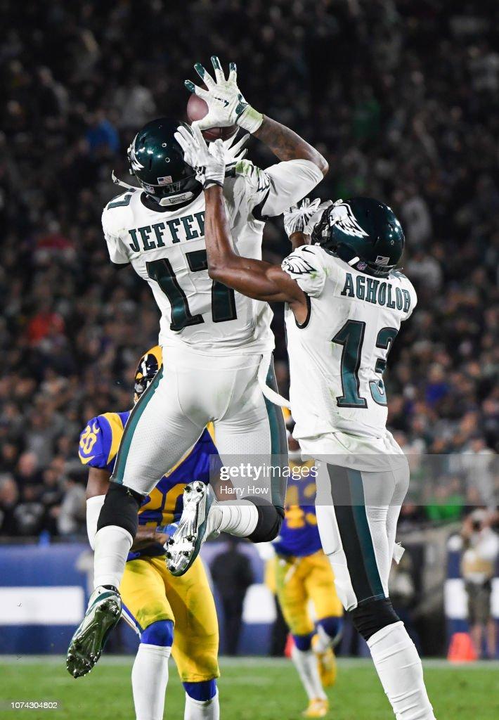 Philadelphia Eagles v Los Angeles Rams : News Photo