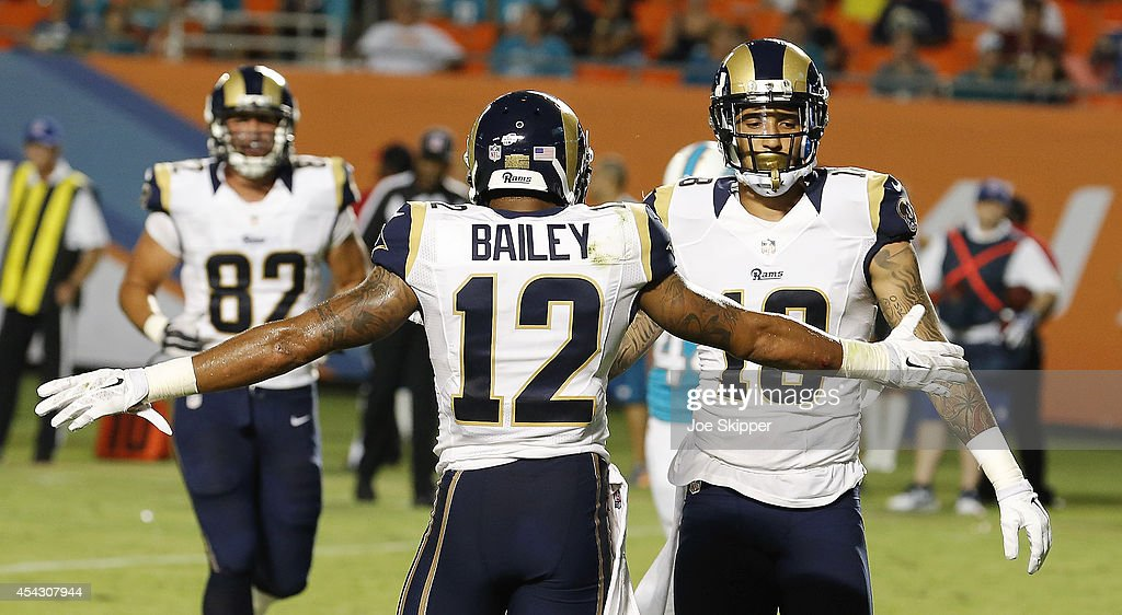 St Louis Rams v Miami Dolphins