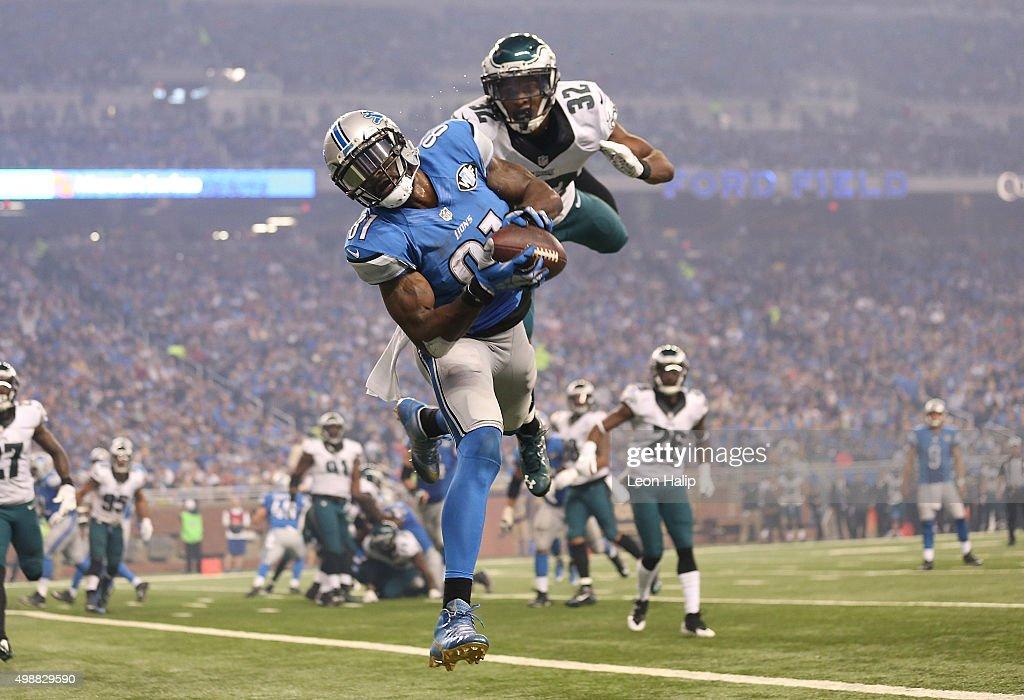 Philadelphia Eagles v Detroit Lions : News Photo