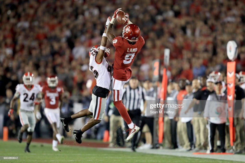 Rose Bowl Game - Oklahoma v Georgia : News Photo