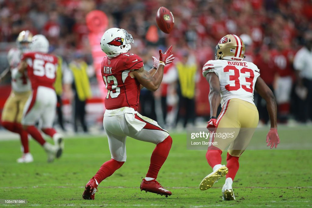 San Francisco 49ers v Arizona Cardinals : News Photo