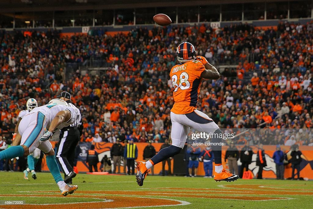 Miami Dolphins v Denver Broncos : News Photo