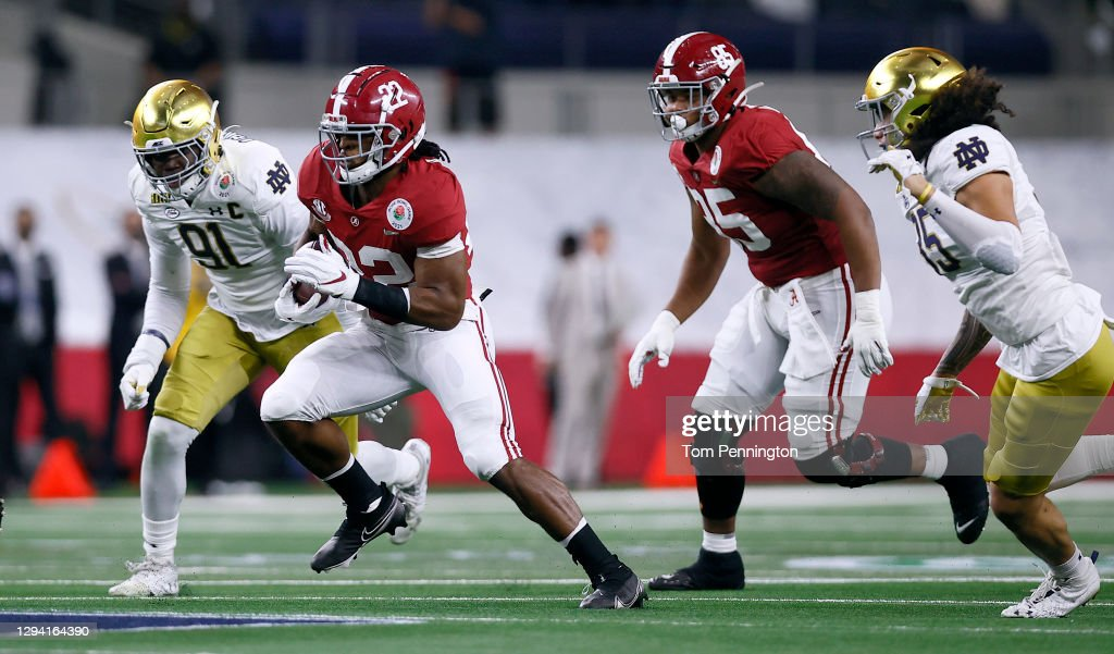 The CFP Semifinal presented by Capital One - Alabama v Notre Dame : News Photo