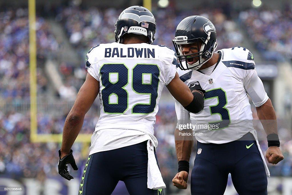Seattle Seahawks v Baltimore Ravens : News Photo