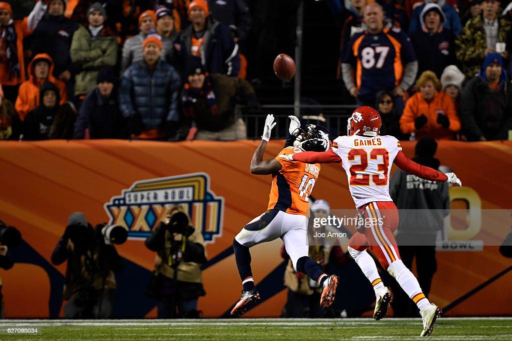 Denver Broncos vs. Kansas City Chiefs, NFL Week 12 : News Photo
